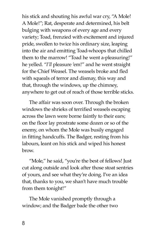 Book Preview For The Wind in the Willows (Part 15) Page 8
