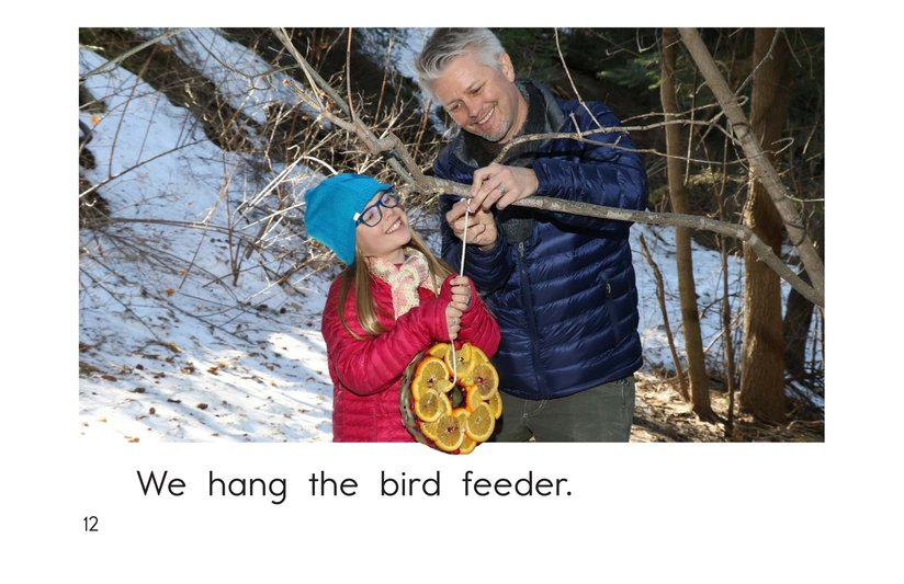 Book Preview For Let's Make a Bird Feeder Page 12