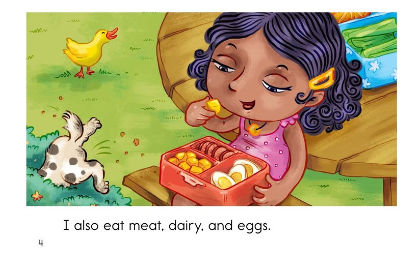 Book Preview For Ava Is a Vegan Page 4