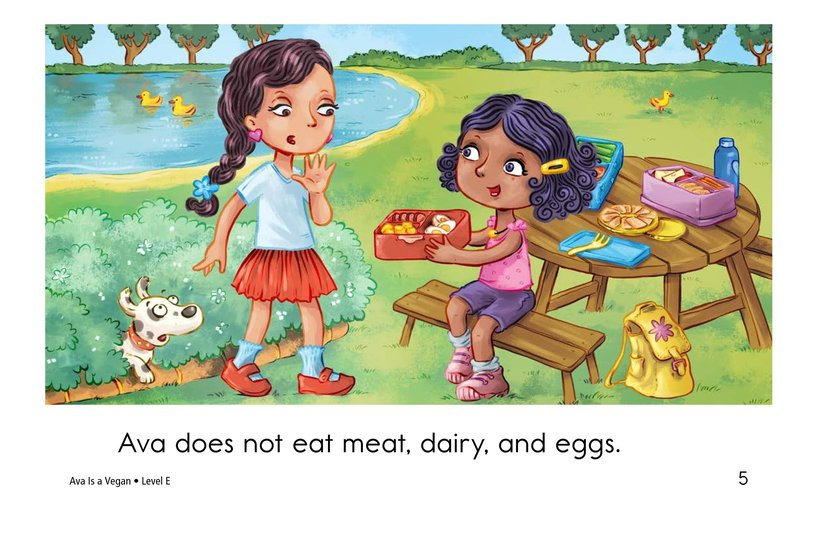 Book Preview For Ava Is a Vegan Page 5