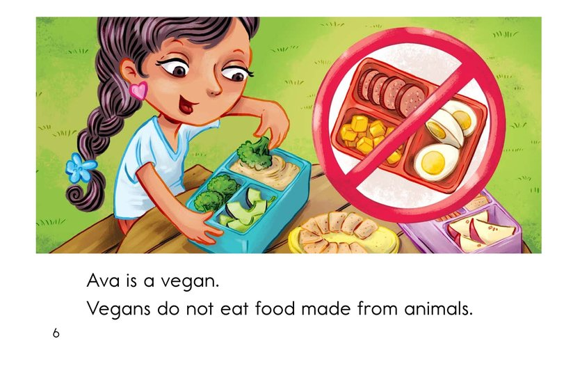 Book Preview For Ava Is a Vegan Page 6