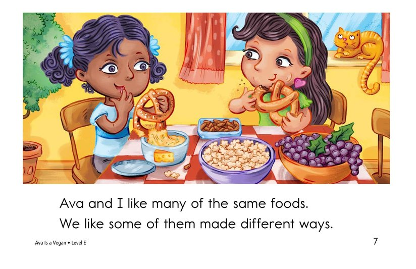 Book Preview For Ava Is a Vegan Page 7