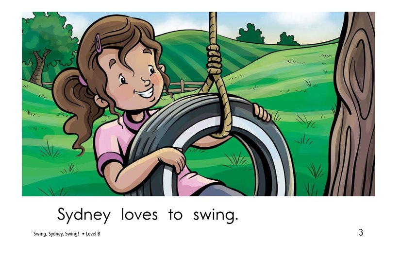 Book Preview For Swing, Sydney, Swing! Page 3