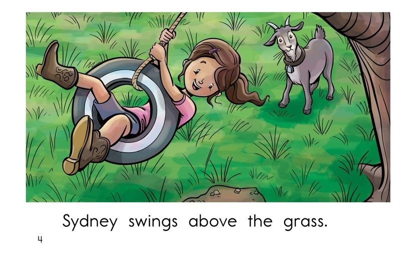 Book Preview For Swing, Sydney, Swing! Page 4