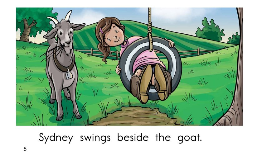Book Preview For Swing, Sydney, Swing! Page 8