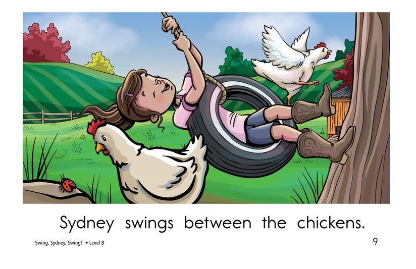 Book Preview For Swing, Sydney, Swing! Page 9