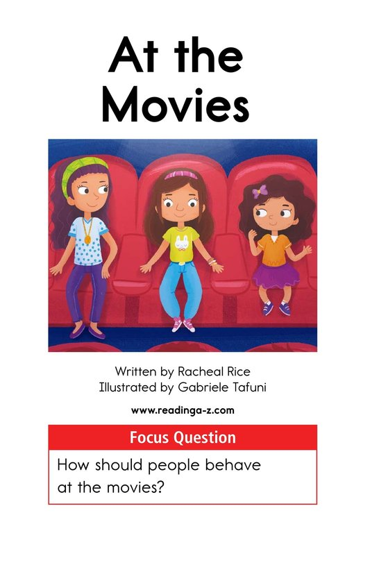 Book Preview For At the Movies Page 1