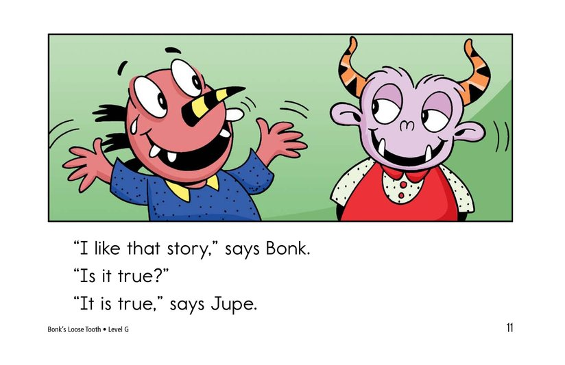 Book Preview For Bonk's Loose Tooth Page 11