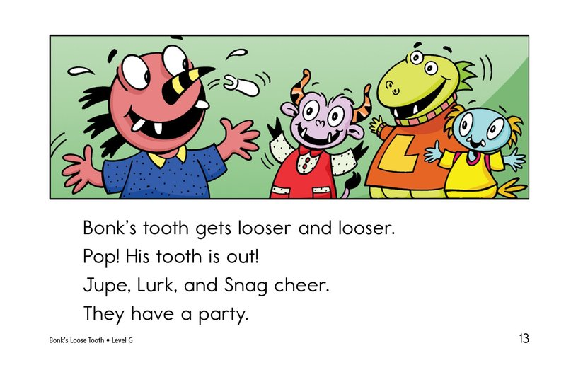 Book Preview For Bonk's Loose Tooth Page 13