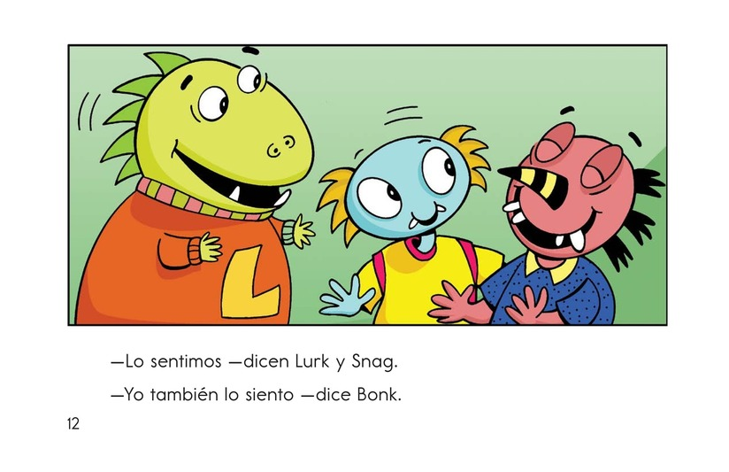Book Preview For Bonk's Loose Tooth Page 12