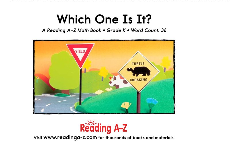 Book Preview For Which One Is It? Page 9