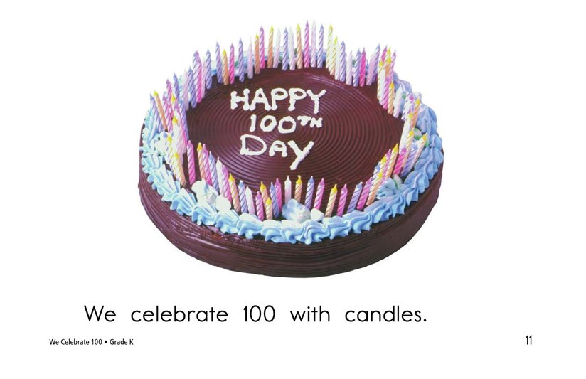 Book Preview For We Celebrate 100 Page 11