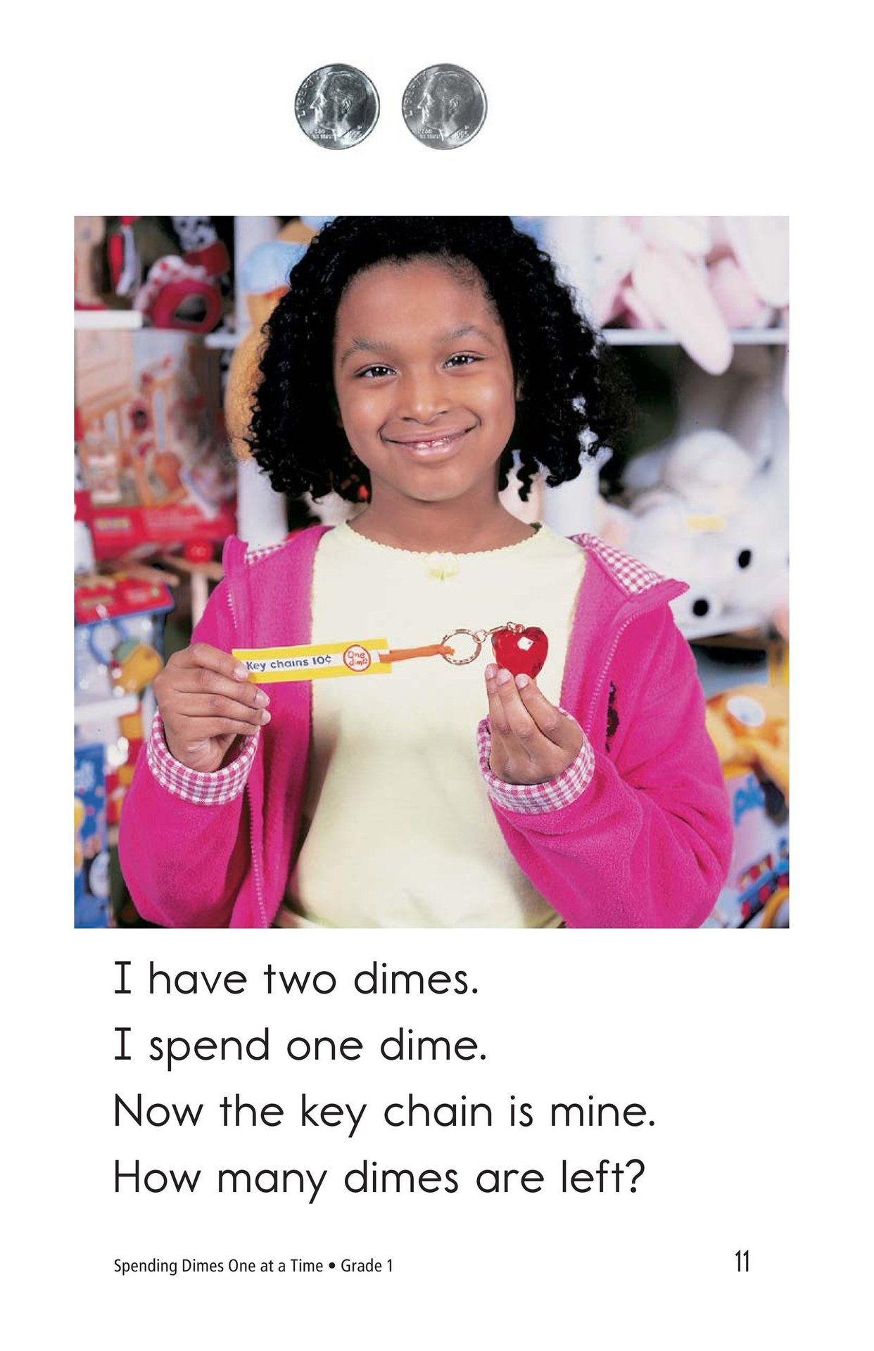 Book Preview For Spending Dimes One at a Time Page 11