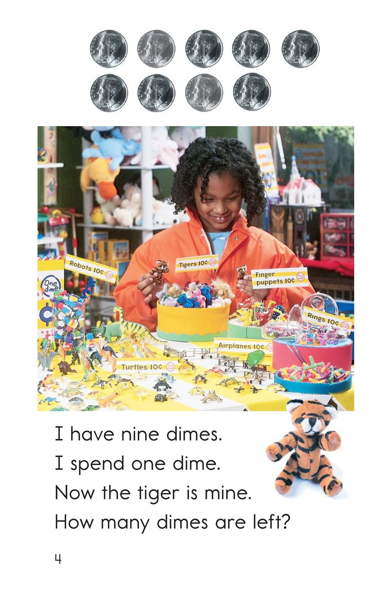 Book Preview For Spending Dimes One at a Time Page 4