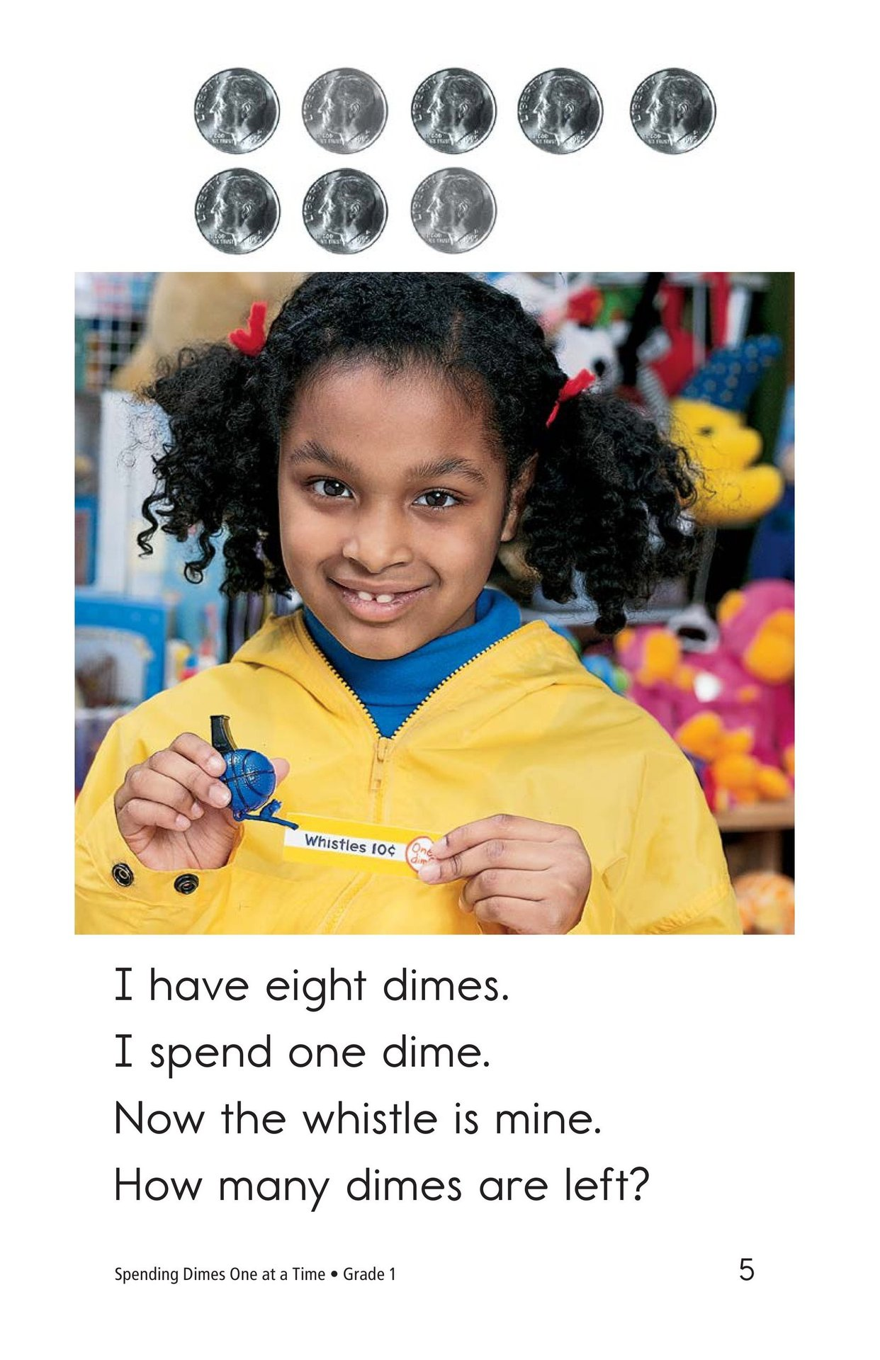 Book Preview For Spending Dimes One at a Time Page 5