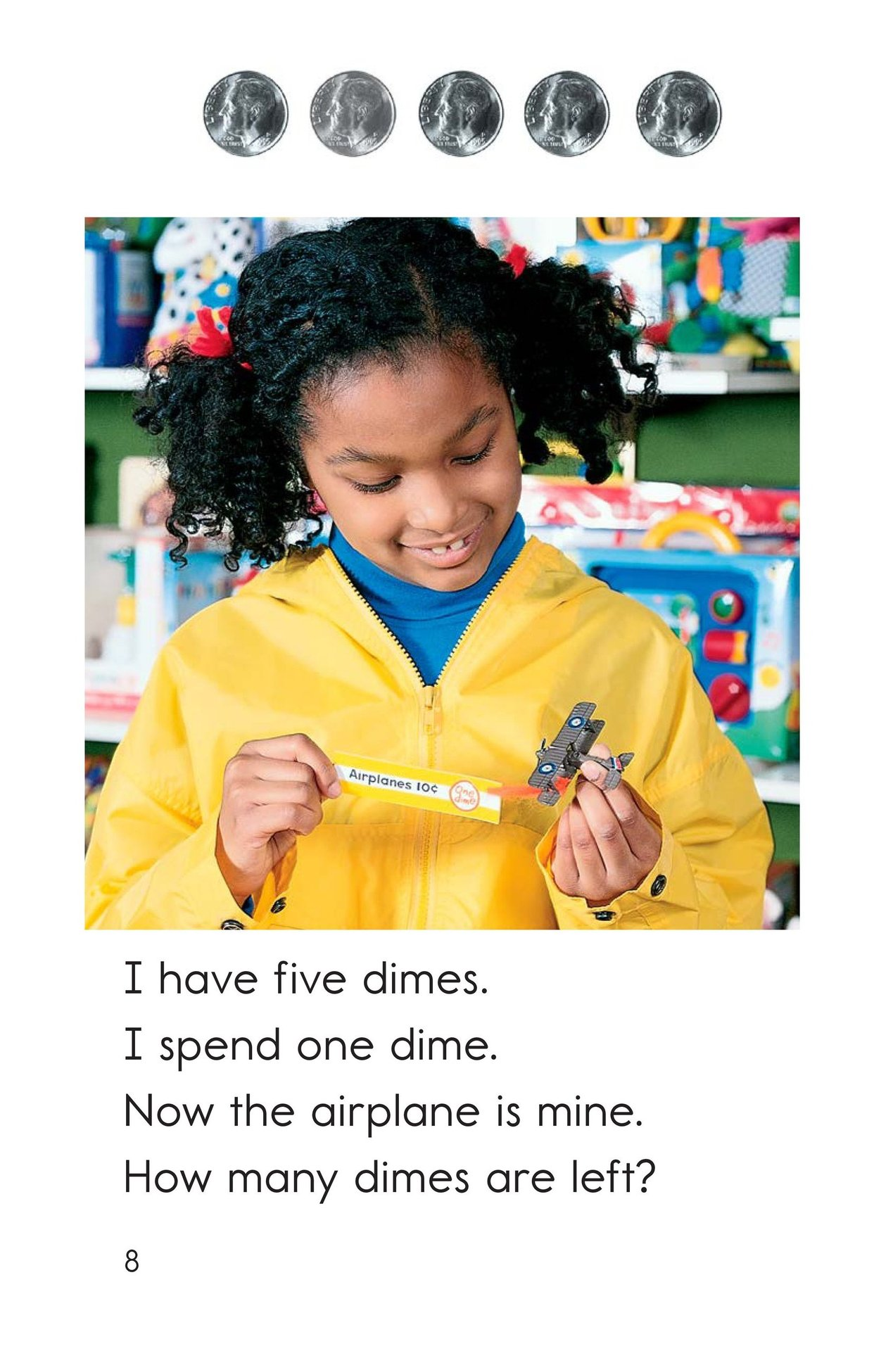 Book Preview For Spending Dimes One at a Time Page 8