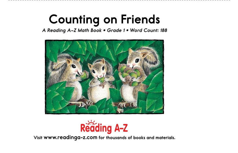 Book Preview For Counting On Friends Page 17