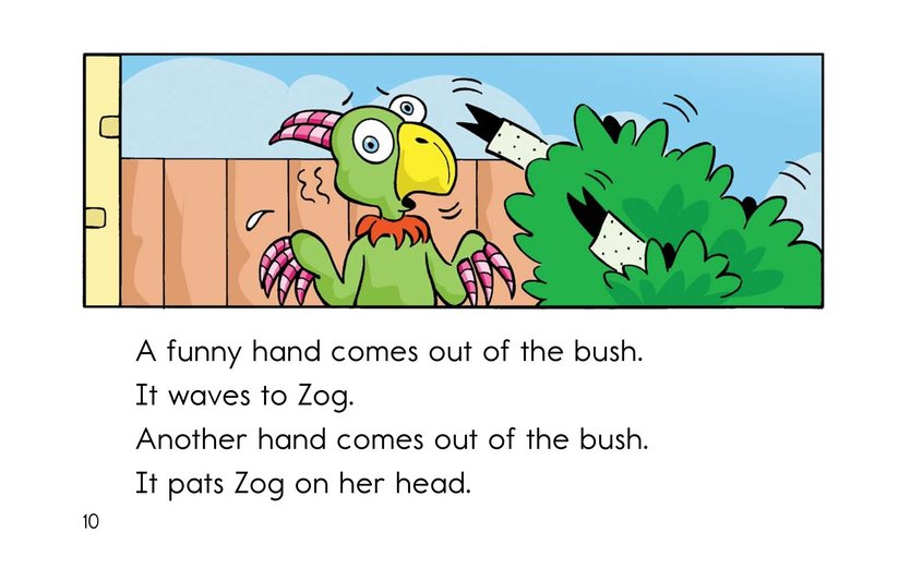 Book Preview For Hide and Seek with Zog Page 10