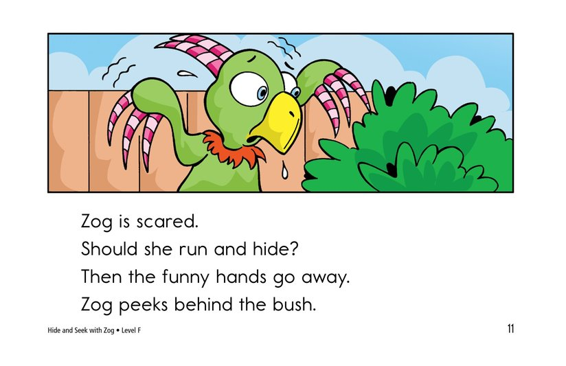 Book Preview For Hide and Seek with Zog Page 11