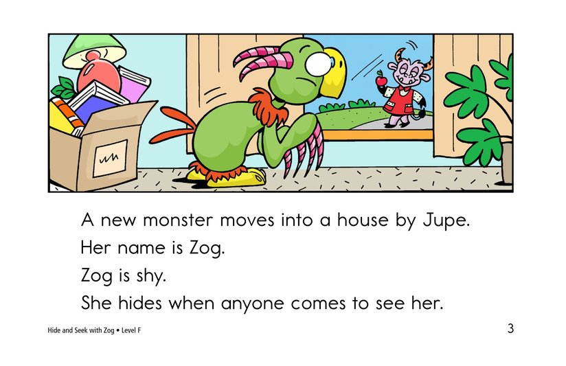 Book Preview For Hide and Seek with Zog Page 3