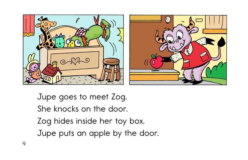 Book Preview For Hide and Seek with Zog Page 4