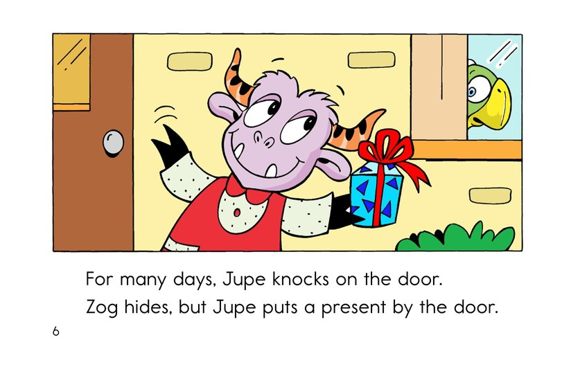 Book Preview For Hide and Seek with Zog Page 6