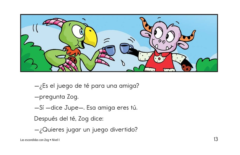 Book Preview For Hide and Seek with Zog Page 13