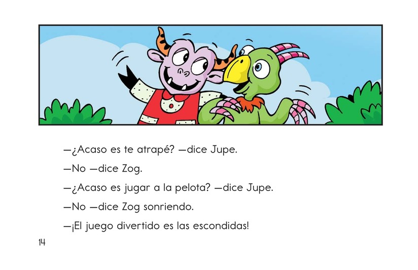 Book Preview For Hide and Seek with Zog Page 14