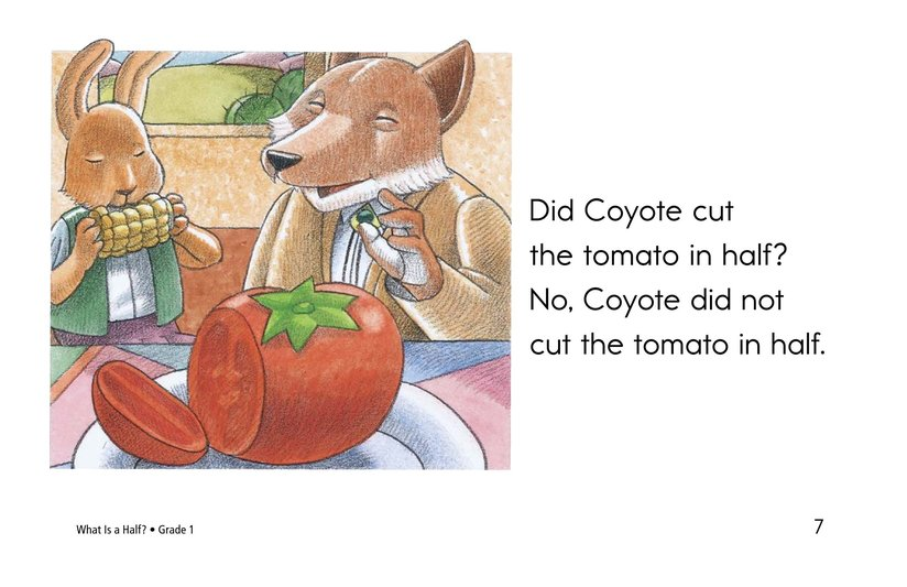 Book Preview For What Is a Half? Page 7