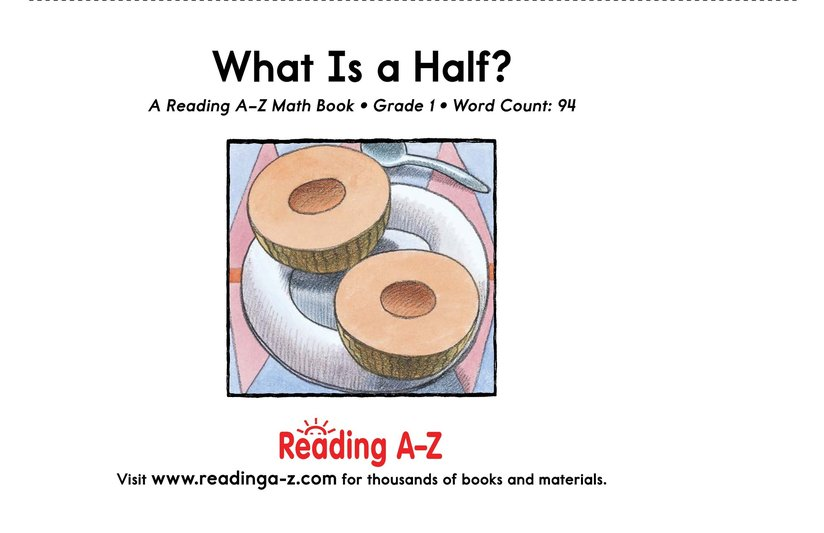 Book Preview For What Is a Half? Page 9