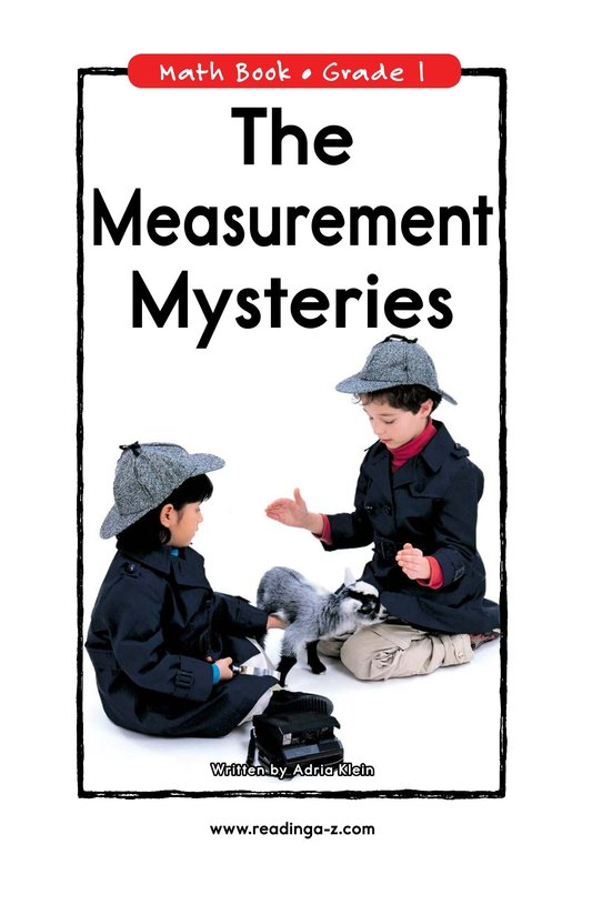 Book Preview For The Measurement Mysteries Page 0