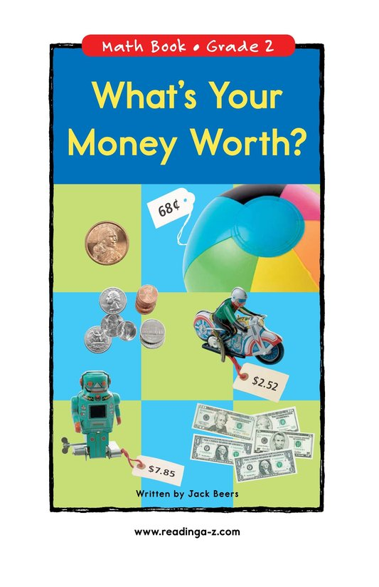 Book Preview For What's Your Money Worth? Page 0