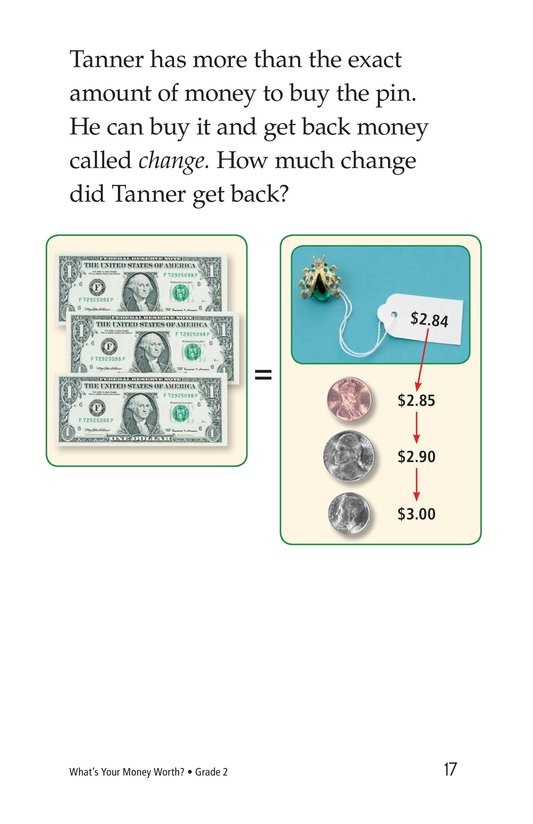 Book Preview For What's Your Money Worth? Page 17