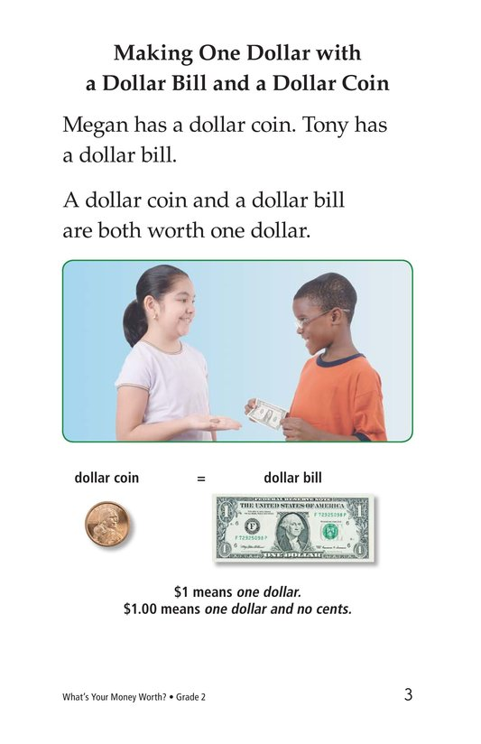 Book Preview For What's Your Money Worth? Page 3