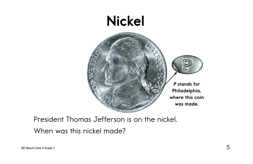 Book Preview For All About Coins Page 5