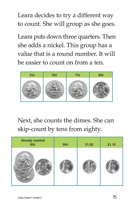 Book Preview For Coins Count Page 15