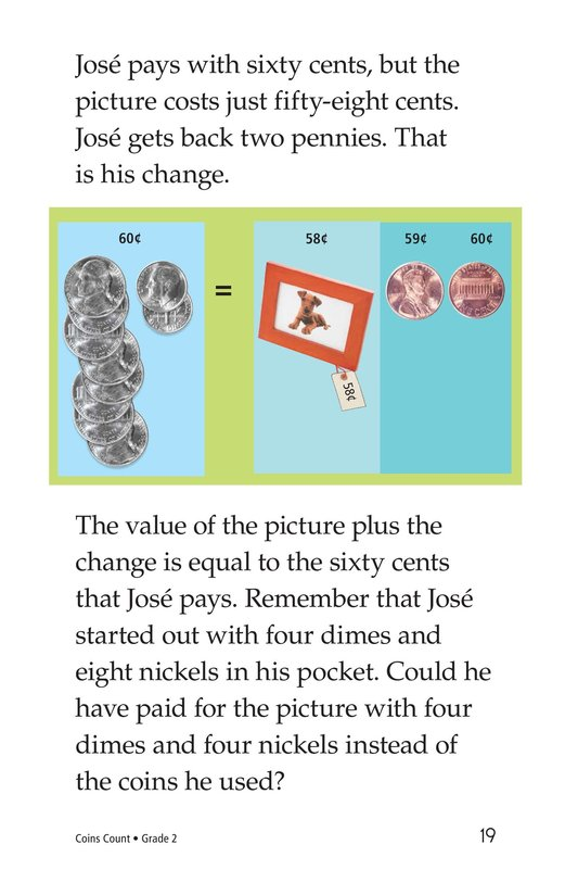 Book Preview For Coins Count Page 19