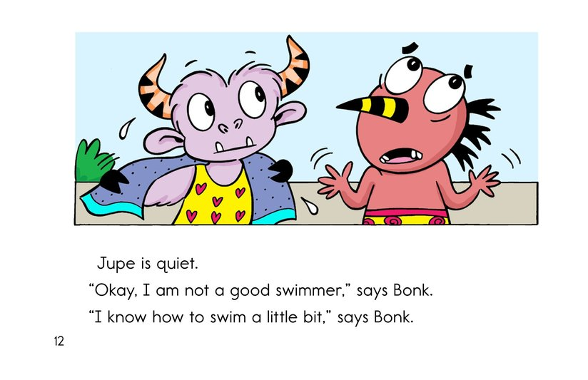 Book Preview For Bonk and the Big Splash Page 12