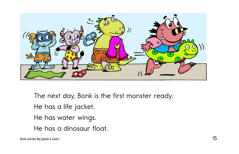 Book Preview For Bonk and the Big Splash Page 15