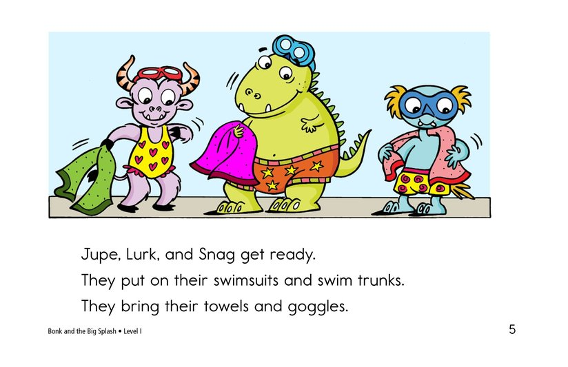 Book Preview For Bonk and the Big Splash Page 5