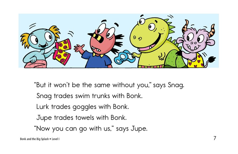 Book Preview For Bonk and the Big Splash Page 7