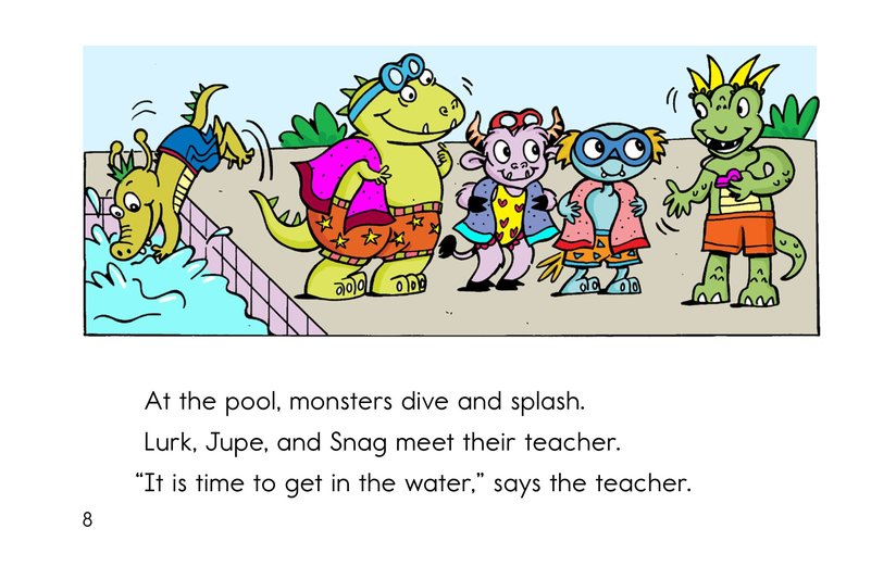 Book Preview For Bonk and the Big Splash Page 8
