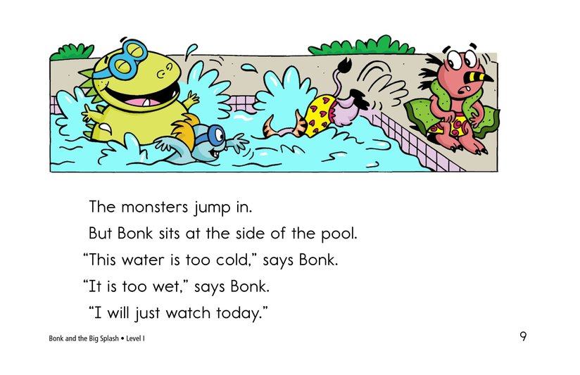 Book Preview For Bonk and the Big Splash Page 9