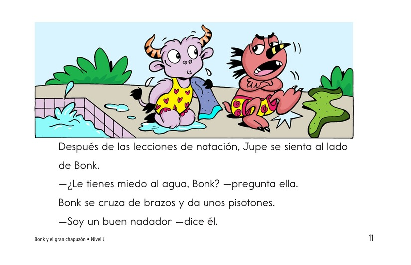 Book Preview For Bonk and the Big Splash Page 11