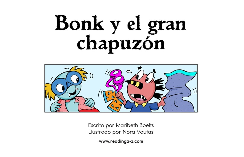 Book Preview For Bonk and the Big Splash Page 2