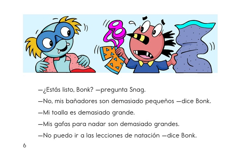 Book Preview For Bonk and the Big Splash Page 6