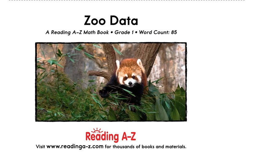 Book Preview For Zoo Data Page 13