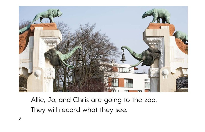 Book Preview For Zoo Data Page 2