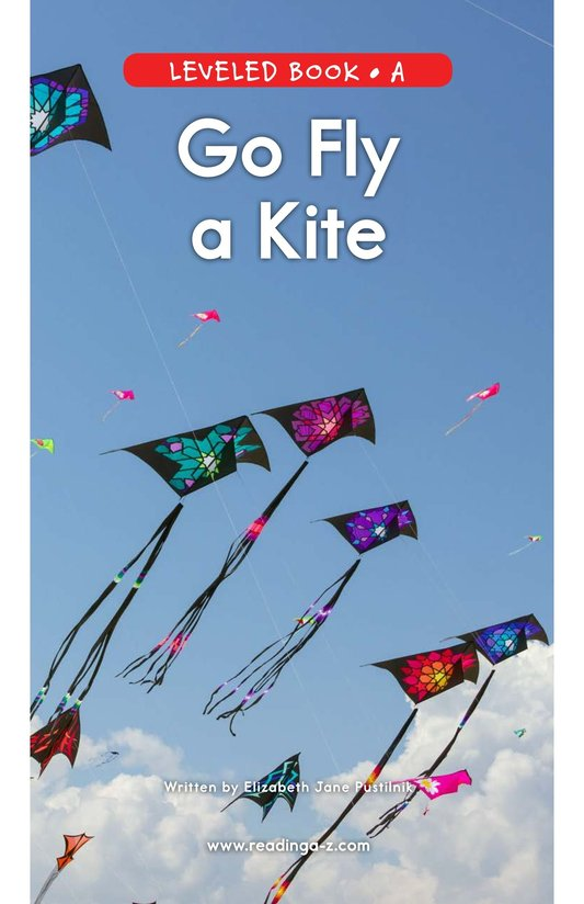 Book Preview For Go Fly a Kite Page 0