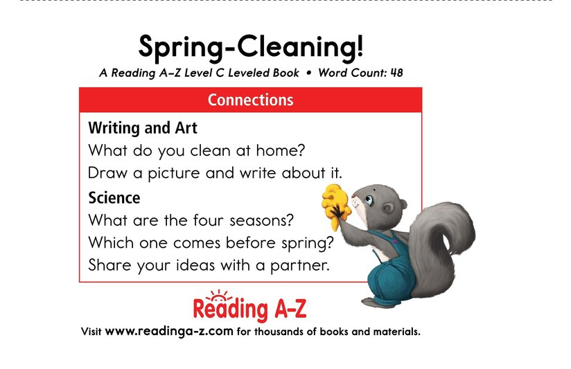 Book Preview For Spring-Cleaning! Page 11